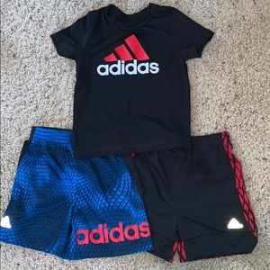 Toddler Boy Adidas outfit